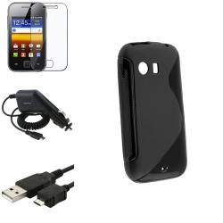 Case/ USB Cable/ Charger/ LCD Protector for Samsung Galaxy Y S5360
