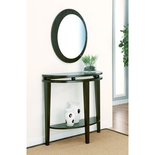 Clarise Espresso Console Table