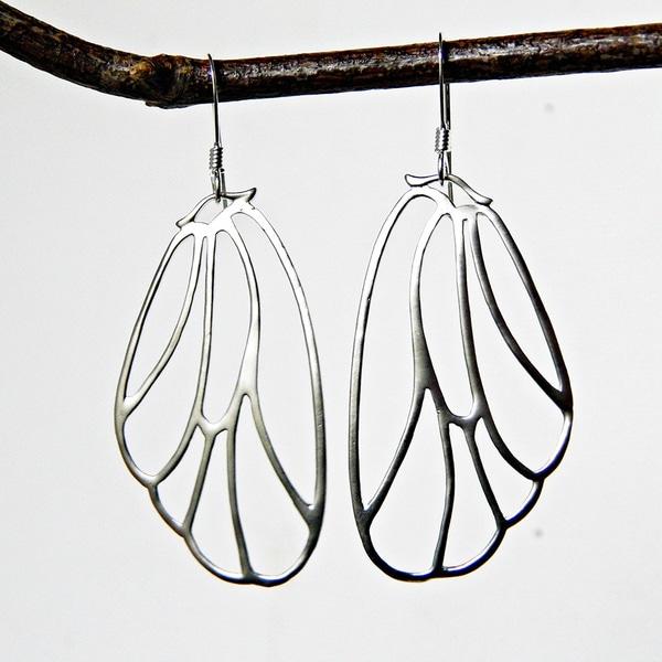 Adrienne Audrey Jewelry Butterfly Wing Earrings 9189022