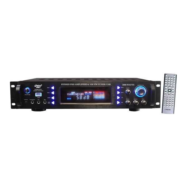 PylePro P3201ATU Amplifier - 800 W RMS - 2 Channel