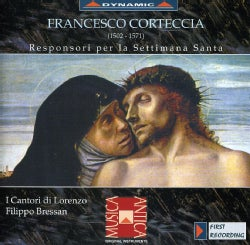 CORTECCIA - RESPONSORI FOR HOLY WEEK