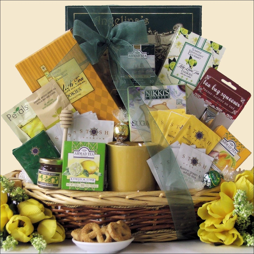 Great Arrivals Tea Treasures Large Gourmet Gift Basket
