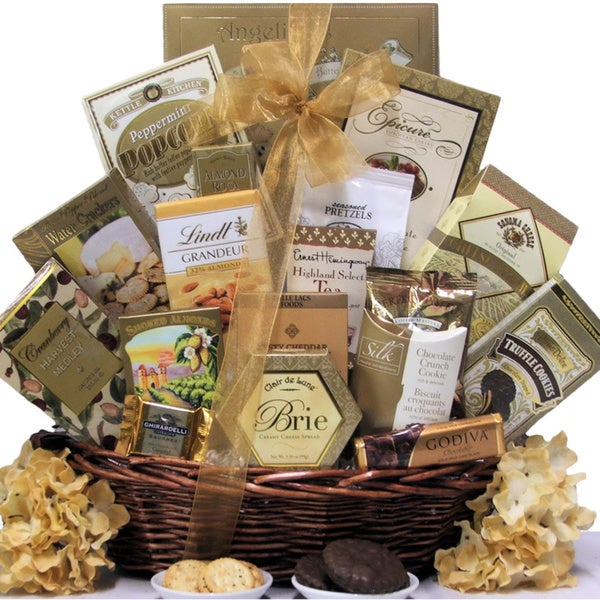 Great Arrivals Classic Elegance Gourmet Gift Basket