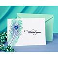 Hortense B. Hewitt Peacock Feather Thank You