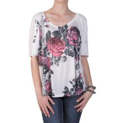 Tressa Designs Women's V-neck Sublimation Print Tee