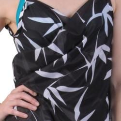 Saress Women's Casual Beach Wrap Dress