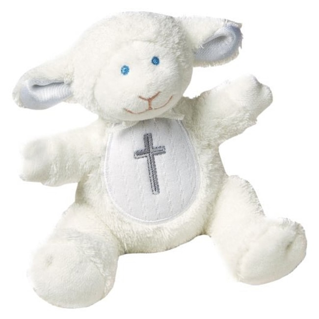 Mary Meyer Christening Lamb Rattle