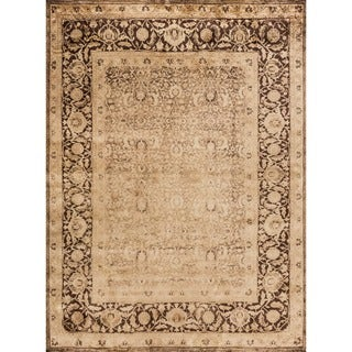 Pembrooke Wheat/ Brown Rug (3'9 x 5'6)