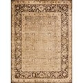 Pembrooke Wheat/ Brown Rug (7'7 x 10'5)