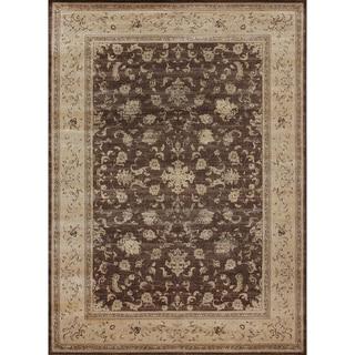 Pembrooke Mocha/ Flax Rug (5'2 x 7'7)