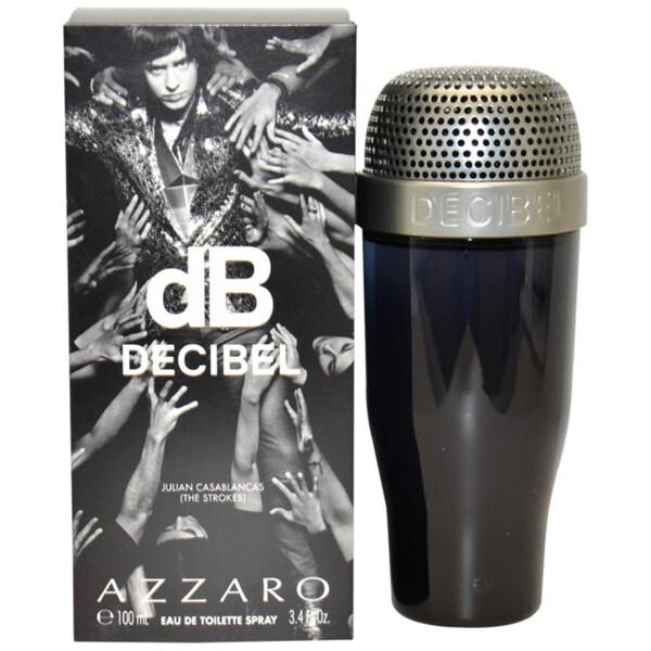 Loris Azzaro dB decibel Men's 3.4-ounce Eau de Toilette Spray