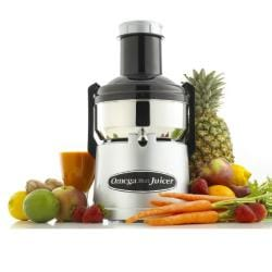 Omega 350-watt Stainless Steel Juicer