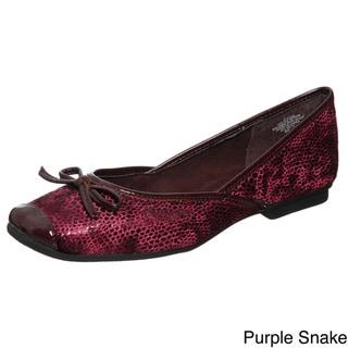 Sam & Libby Women's 'Zees' Embellished Flats
