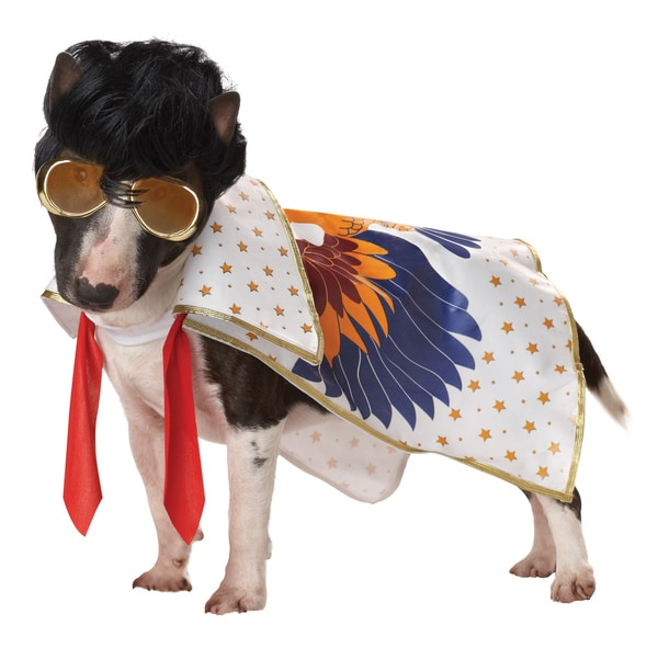 Pup-A-Razzi Rock 'n Roll King Dog Halloween Costume