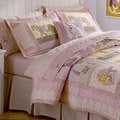 Giddy Up Applique Embellished 3-piece Quilt Set