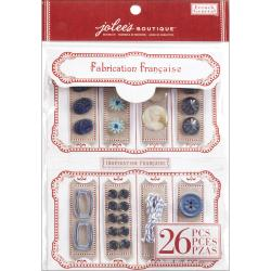 French General Notion Kit-Blue