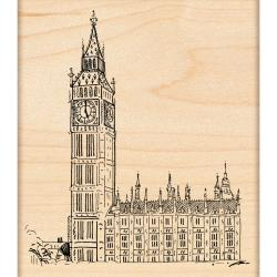Penny Black Rubber Stamp 3.5