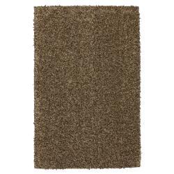 Kodiak Buttenut/ Taupe Shag Rug (8' x 10')