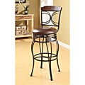 Swivel Espresso Bar Stool (Set of 2)