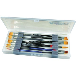 "ArtBin Brush Box-14""X6""X1.25"" Translucent"