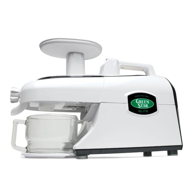 Tribest Green Star Elite Jumbo Twin Gear Juice Extractor