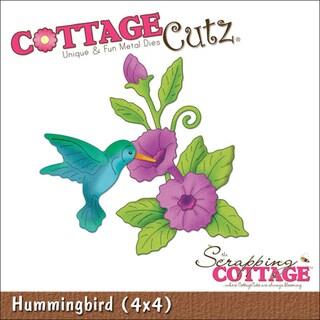 """CottageCutz Die 4""""X4""""-Hummingbird"""