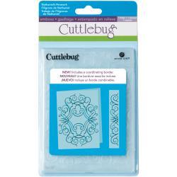 Cuttlebug 5x7 Embossing Folder/Border Set-Nathaniels' Penwork