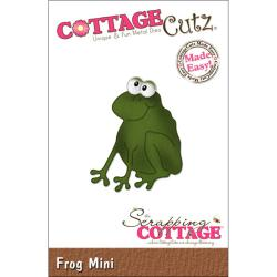 "CottageCutz Mini Die 1.75""X1.75""-Frog Made Easy"