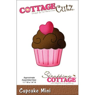 "CottageCutz Mini Die 1.75""X1.75""-Cupcake Made Easy"