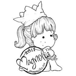 Princes & Princesses Cling Stamp-Little Princess Tilda
