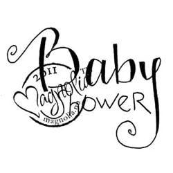 Princes & Princesses Cling Stamp-Baby Shower