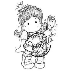 Princes & Princesses Cling Stamp-Tilda Princess Of The Valley