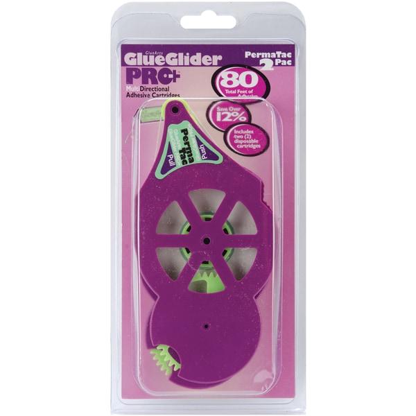 "GlueGlider Pro Plus Refill 1/4""x40' 2/Pk-Permatac"