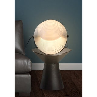 Modern Shell Table Lamp White