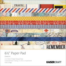 Check In Paper Pad 6.5