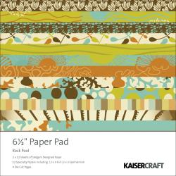 Rock Pool Paper Pad 6.5
