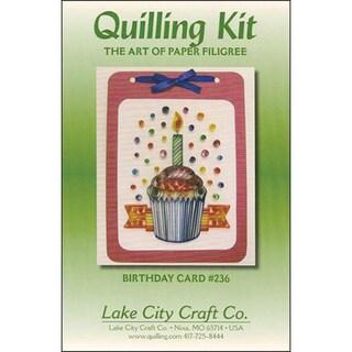 Quilling Kit-Birthday Cupcake