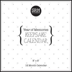 "SRM Keepsake Calendar 8""X8"""