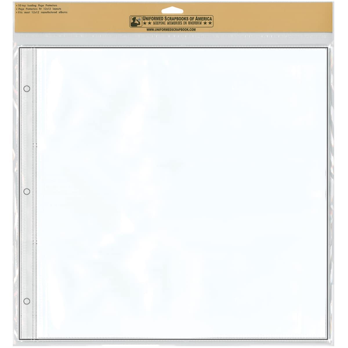 "12""X12"" Keepsake Refill Pages 10/Pkg"