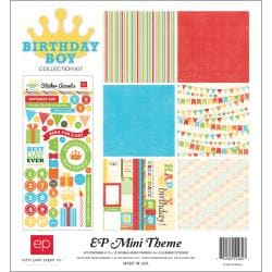 "Birthday Boy Collection Kit 12""X12"""