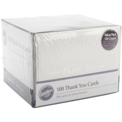 Thank You Cards 100/Pkg