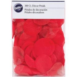 Petals W/Organza 300/Pkg-Red