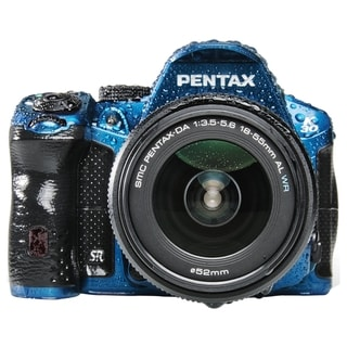 Pentax K-30 16.3 Megapixel Digital SLR Camera (Body with Lens Kit) -