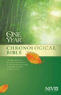 The One Year Chronological Bible: New International Version (Hardcover)