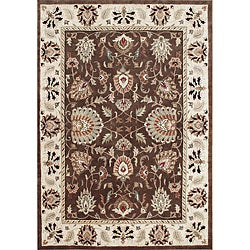 Alliyah Handmade Ivory New Zealand Blend Wool Rug (9' x 12')