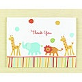 Hortense B. Hewitt Jungle Animals Thank You Cards (Set of 25)