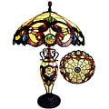 Victorian Two-light Table Lamp