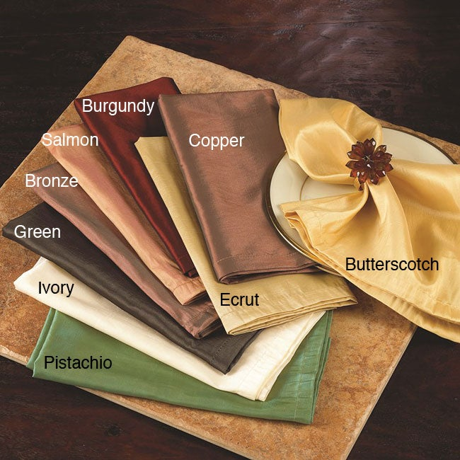 Solid Dinner Napkins (Set of 6)
