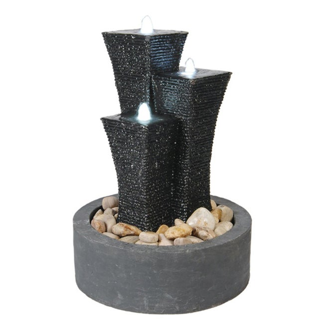 29-inch Water Fountain with Light