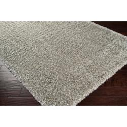 Woven Gray Portage Soft Shag Accent Rug (1'10 x 2'11)